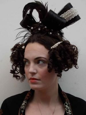 Photos Of Work From Period Hair Courses 1830s Reproduction
