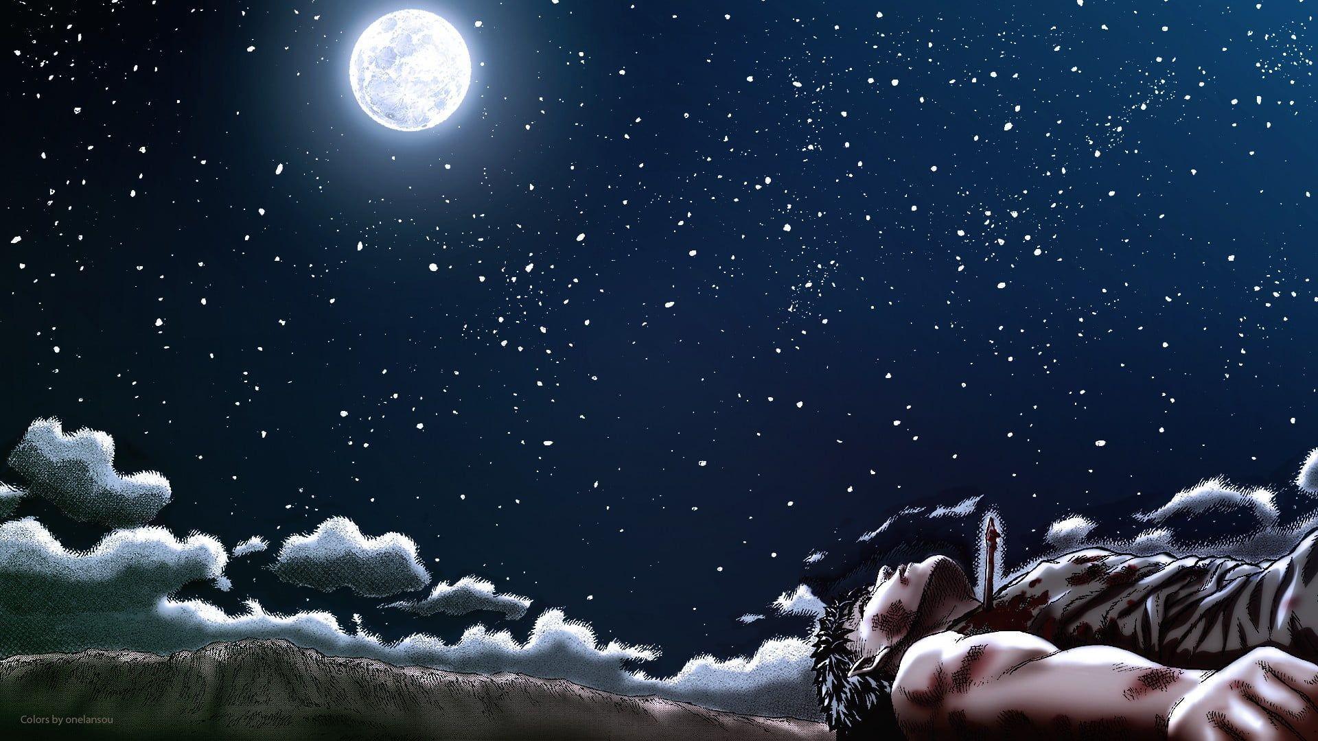 Moonlight Night Wallpaper 1920x1080