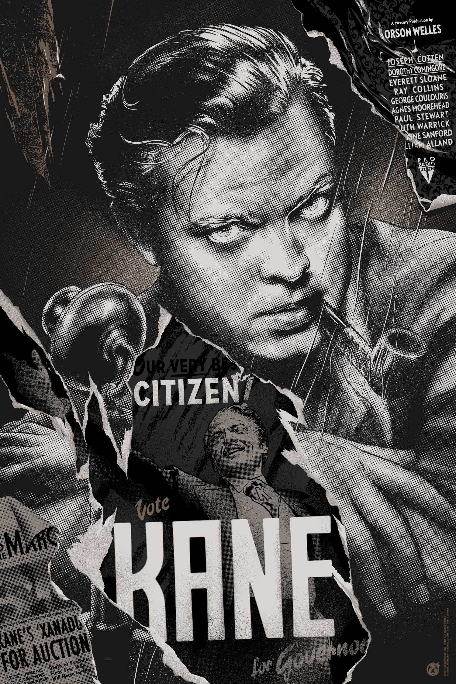 Citizen Kane - Variant – Mad Duck Posters 121cd818b9e
