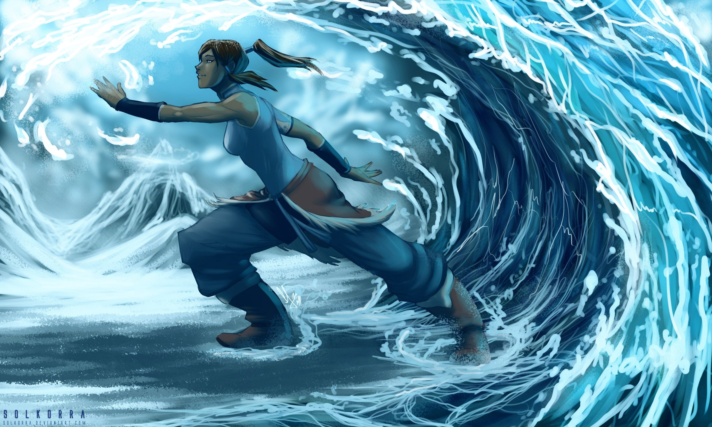 Download Legend Of Korra Live Wallpaper For Android Appszoom Hermosos Paisajes Paisajes Avatar