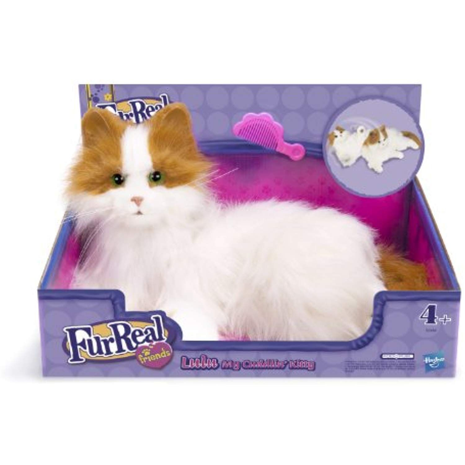 Furreal Friends Cat Lulu My Cuddlin Kitty Check Out This Great Product This Is An Affiliate Link K Fur Real Friends Hugs And Cuddles Little Live Pets