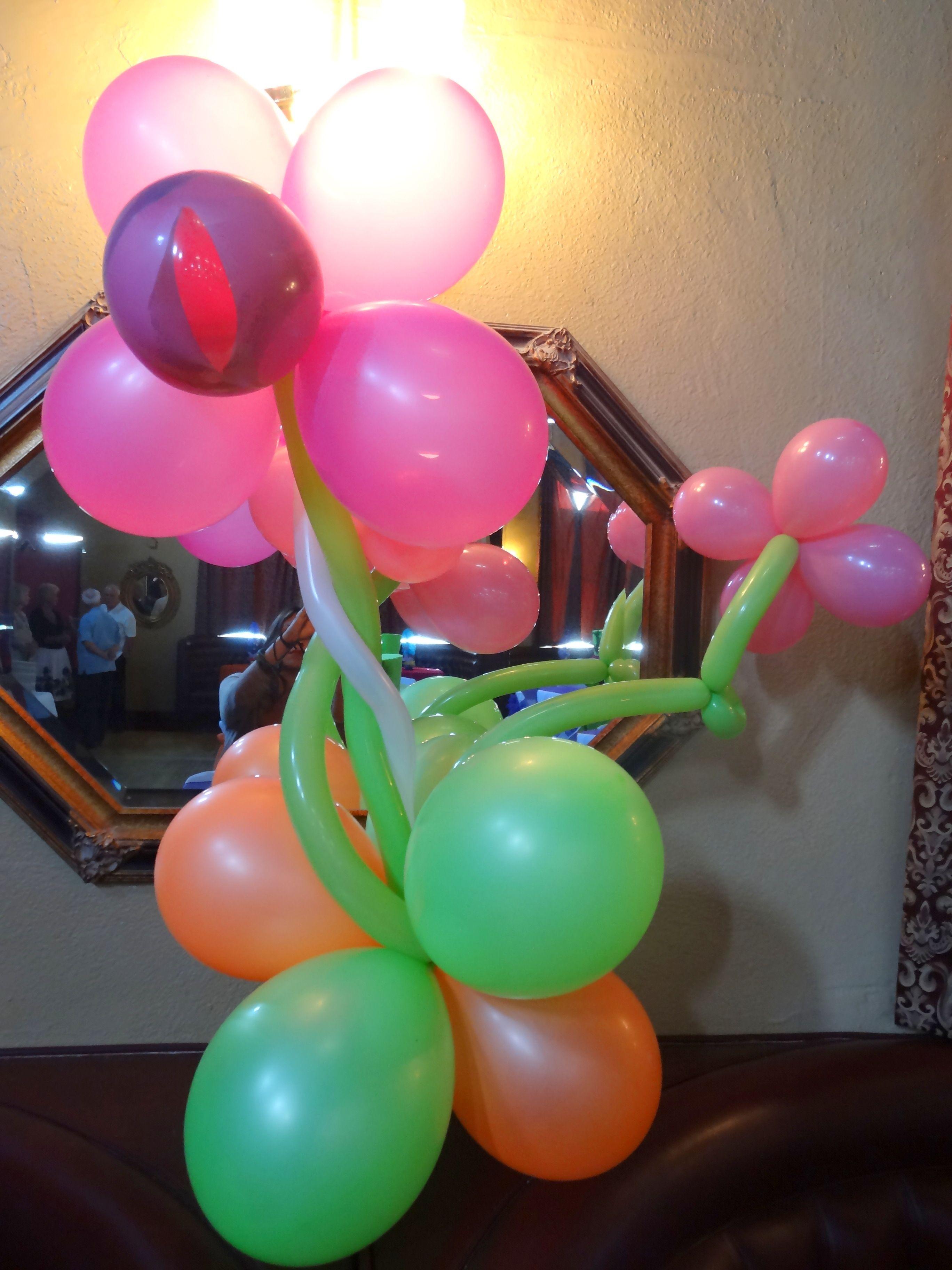 Balloon Flower Centerpiece Balloon Flower Centerpiece