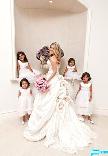 the real housewives of beverly hills pandora's wedding gown was so