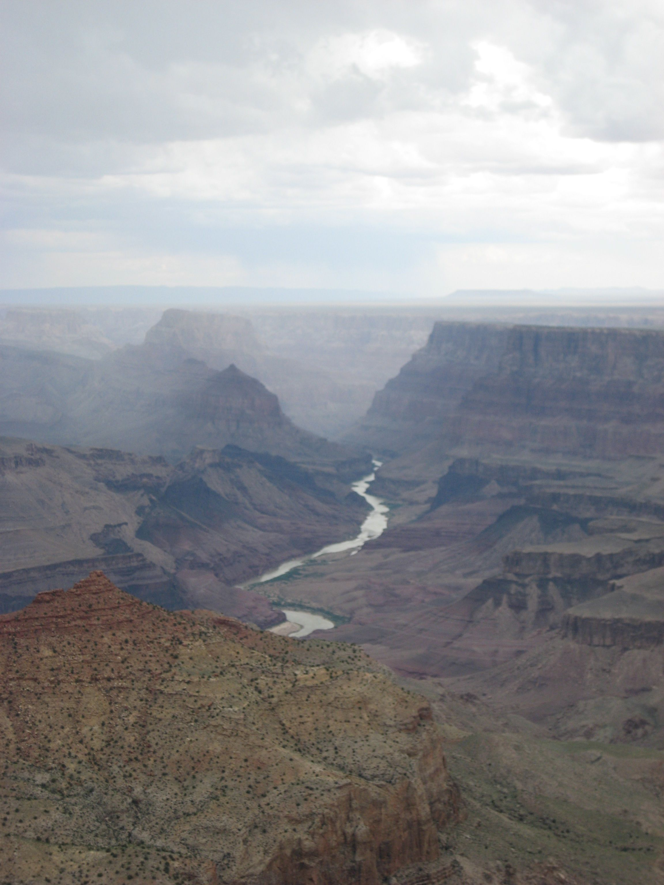 Never been to the Grand Canyon but want to ~ view from the South Rim