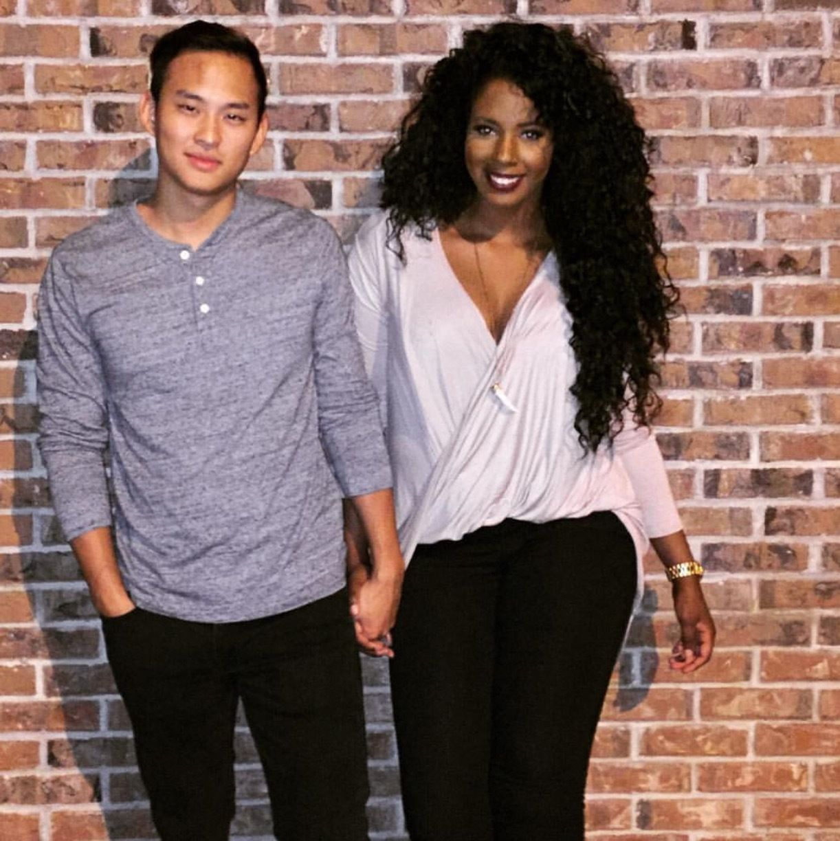 Korean guy dating black girl