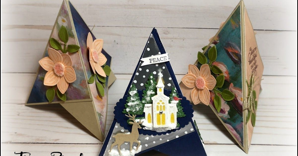 Teepee Fun Fold Cards Video The Serene Stamper Fancy Fold Card Tutorials Pop Up Christmas Cards Folded Cards