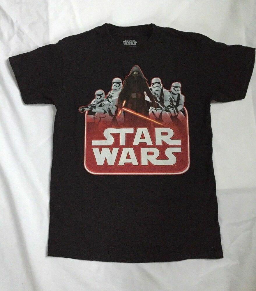Star Wars Darth Vader T Shirt Size Small Black StarWars
