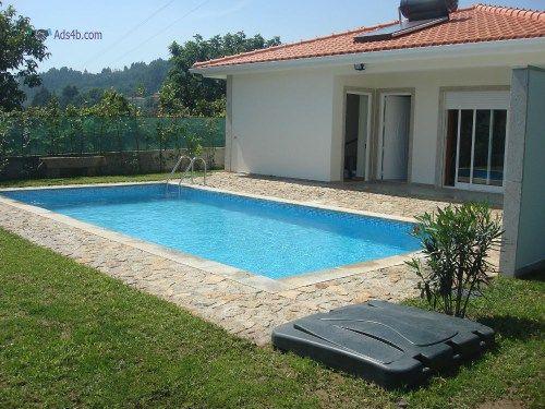 Casa abertat2 nova economica r c tem piscina jardim for Casa moderna economica