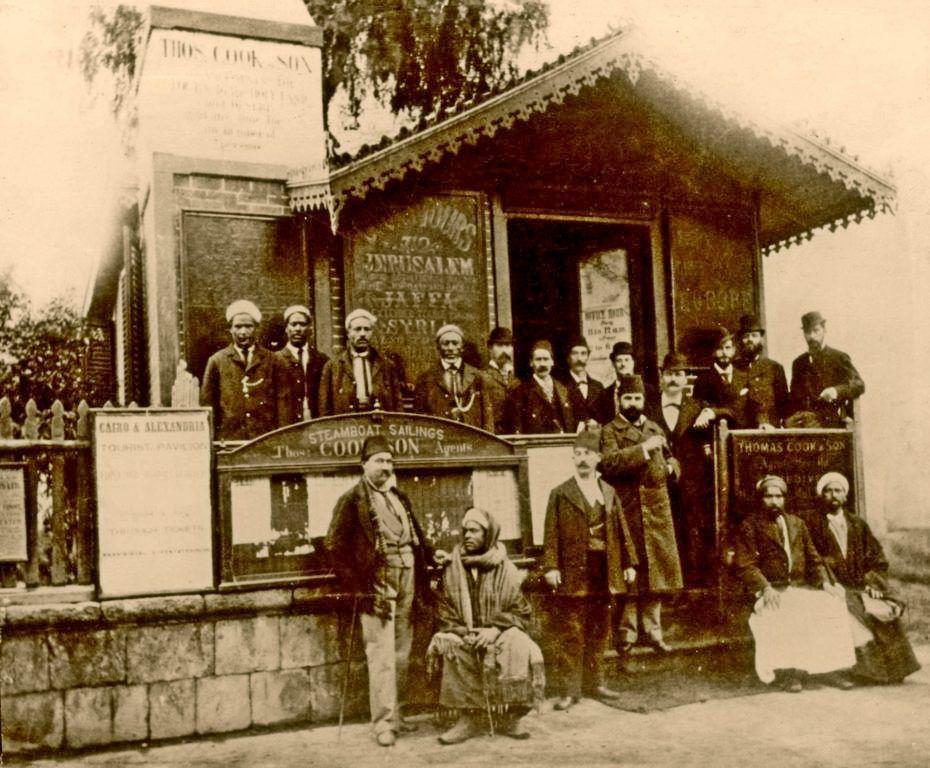 Thomas Cook Son 1872 Egypt Travel Agency Cairo