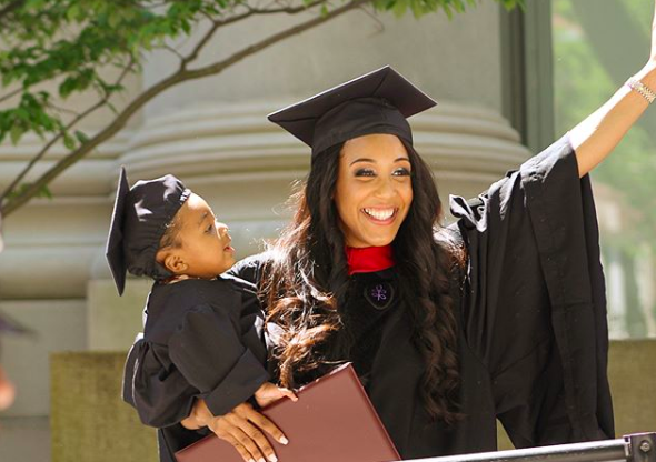 With Baby In Tow 24 Year Old Single Mom Graduates From Harvard Law School Harvard Law Law School Harvard Law School