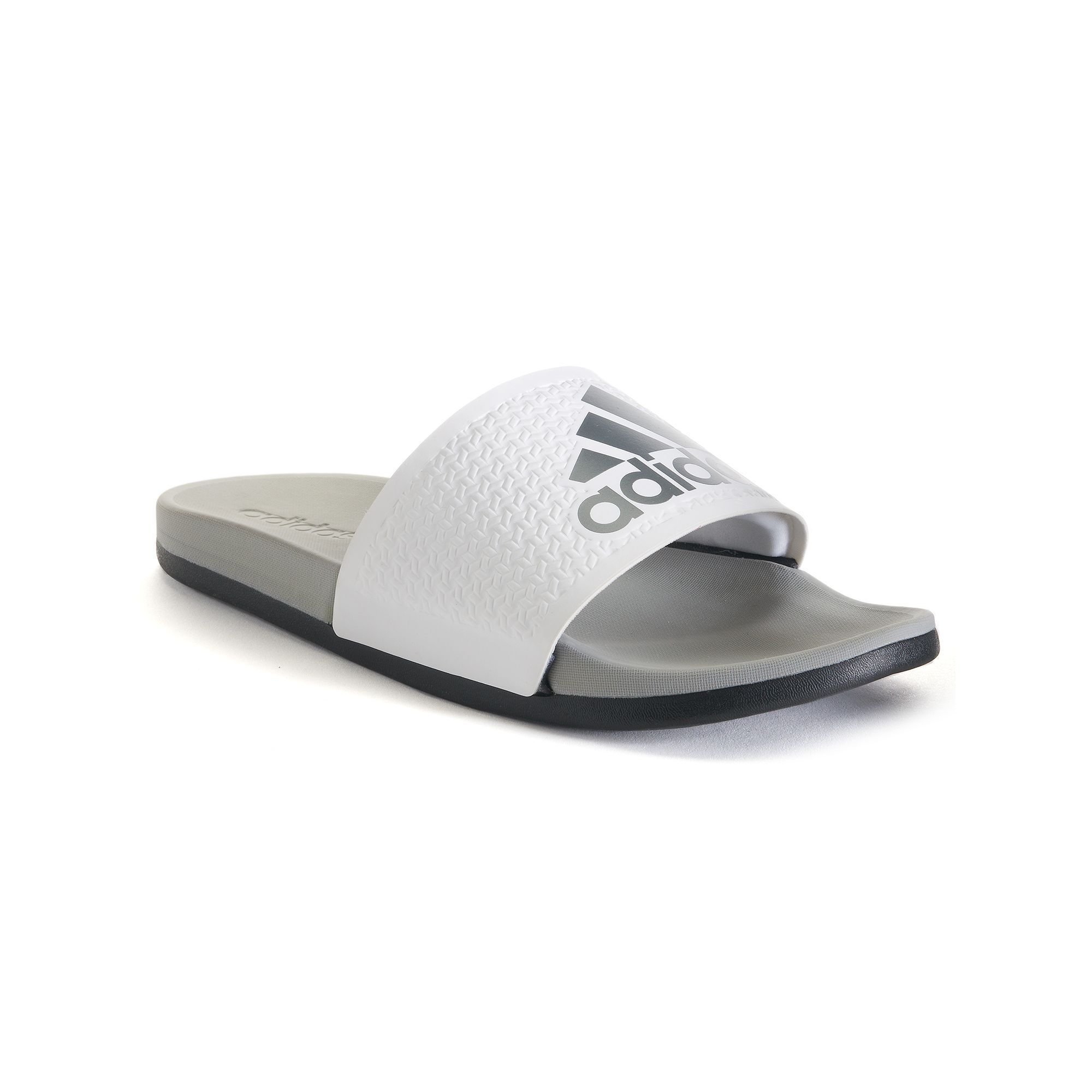 save off 5561a 2ef4f Adidas Adilette Supercloud Plus Mens Slide Sandals, Size 12, White