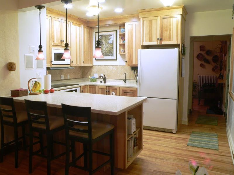 Charming Small U shaped Kitchen Design Layout With A Lot More