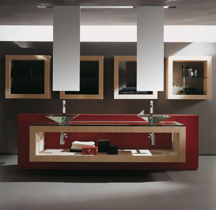 modern bathroom vanities. Bathroom  Contemporary Designs Amazing Powder Room Design Ideas Feature Wall Mounted