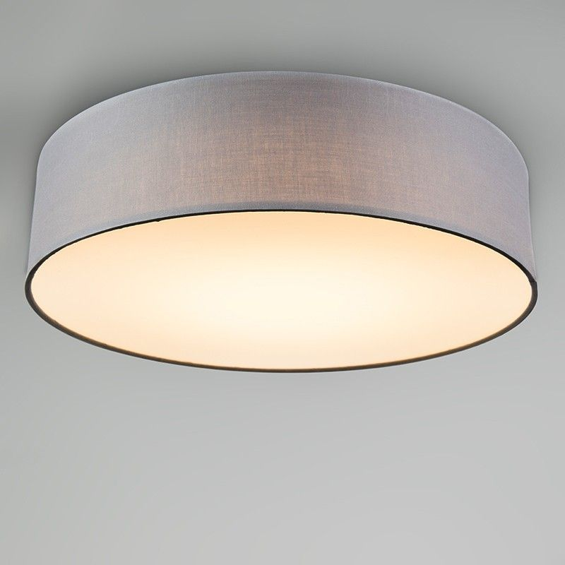 Deckenleuchte Drum LED 40 grau Hellgrau Pinterest - deckenleuchte led wohnzimmer
