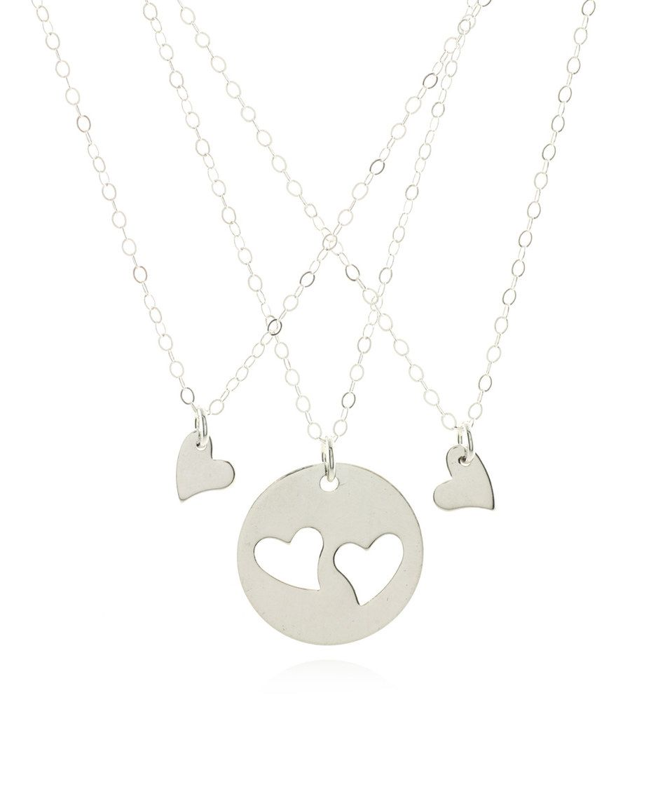 Love this sterling silver you have stolen my heart necklace set by