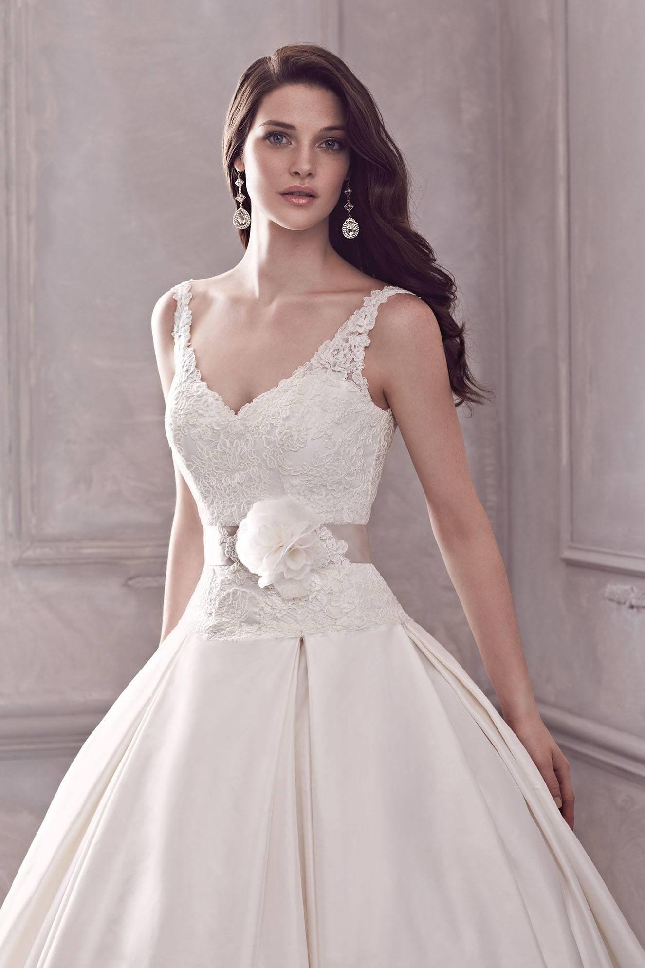 Ball Gown Wedding Dress - Style #4400 | Paloma blanca, Wedding ...