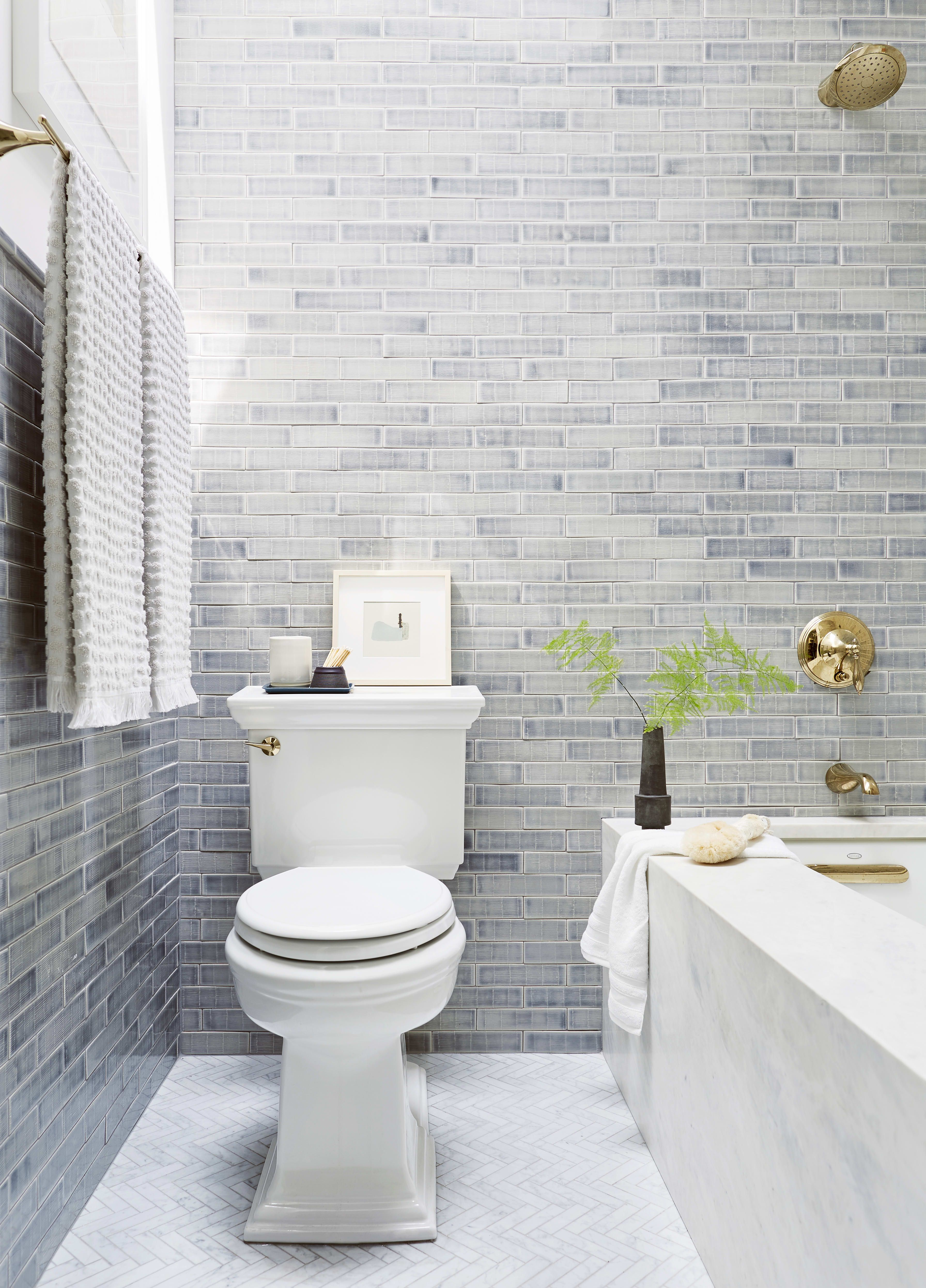 7 Bathroom Tile Ideas That Will Make You Reconsider An All White Space Gray Shower Tile Tile Bathroom Grey Bathroom Tiles
