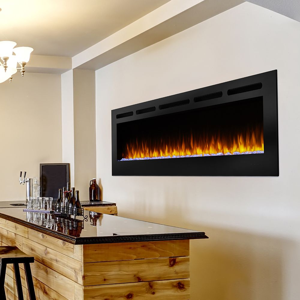 Hearth Home 84 In Allusion Simplifire Wall Mount Electric