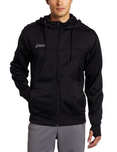 asics zip hoodie mens Orange