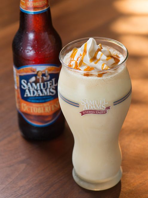 This week, the human interest news cycle is a-buzz with the announcement of a Samuel Adams Octoberfest Milkshake available this fall at burger chain Red Robin. Yes, it has beer in it. But ManMakers, beer lovers, and all-around interesting people alike have known for years thatthe bitter, sweet, and complex malty flavors and aromas of beer are a perfect match for the rich creaminess of ice cream, and while I guess it's noteworthy that a megacompany like Red Robin are incorporating it into their seasonal menu, it's not terrifically ground breaking or mysterious. It's just tasty. So, here are three...