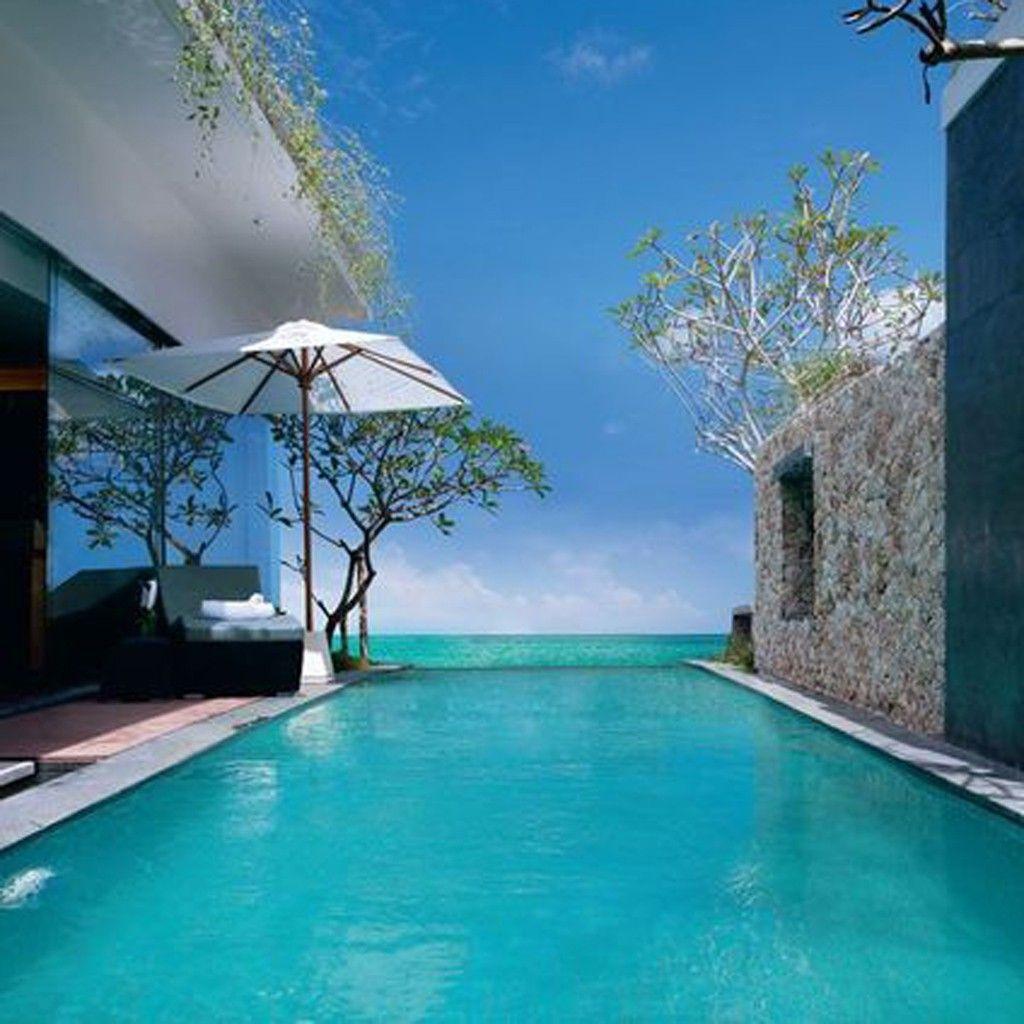 les piscines de r ve de notre t sur pinterest elle d coration swimming pools architecture. Black Bedroom Furniture Sets. Home Design Ideas