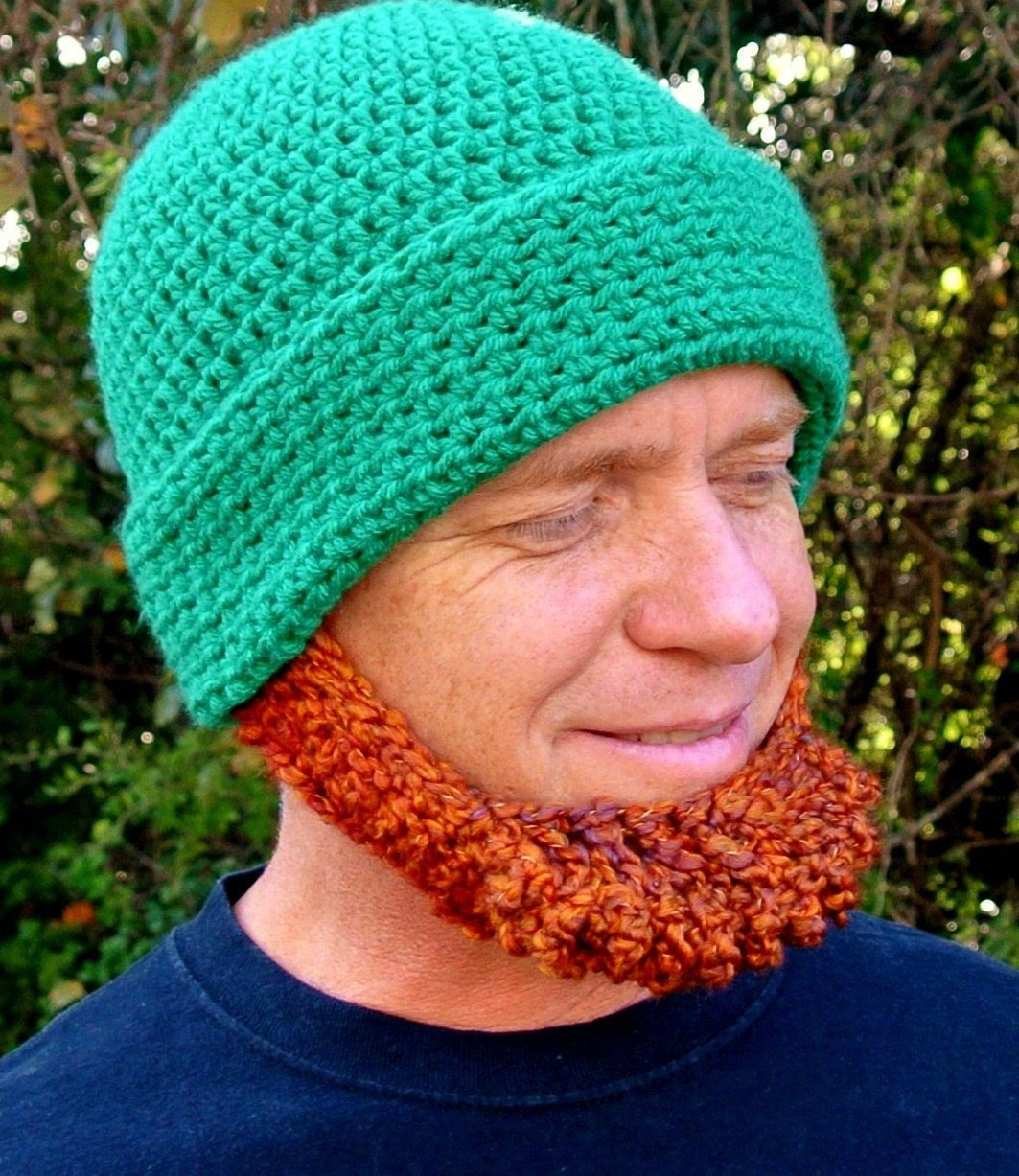 irish crochet hat patterns with red chin strap   Request a custom ...