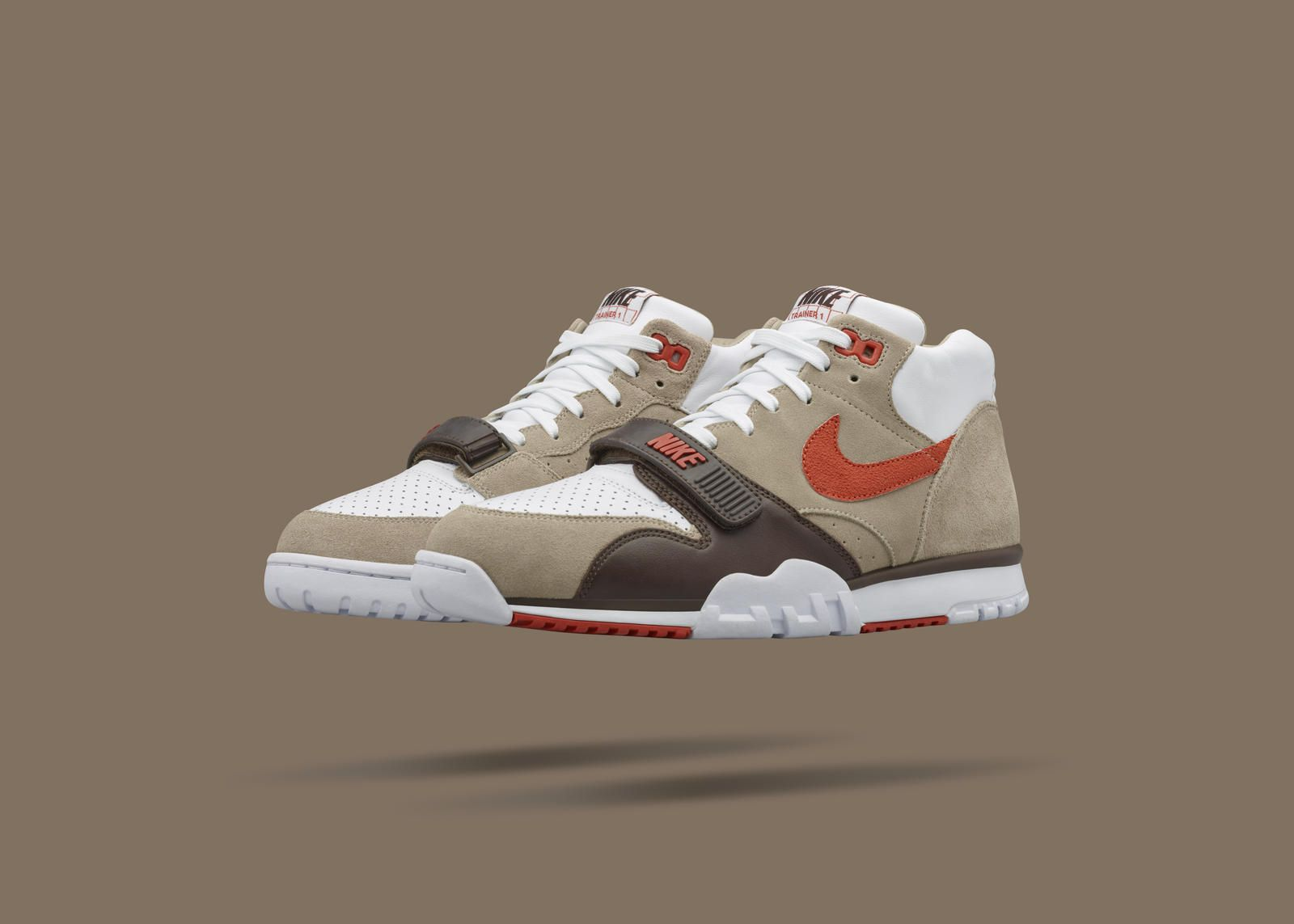 good out x classic style 100% high quality NikeCourt Air Trainer 1 Mid x fragment: Beauty In Brick ...