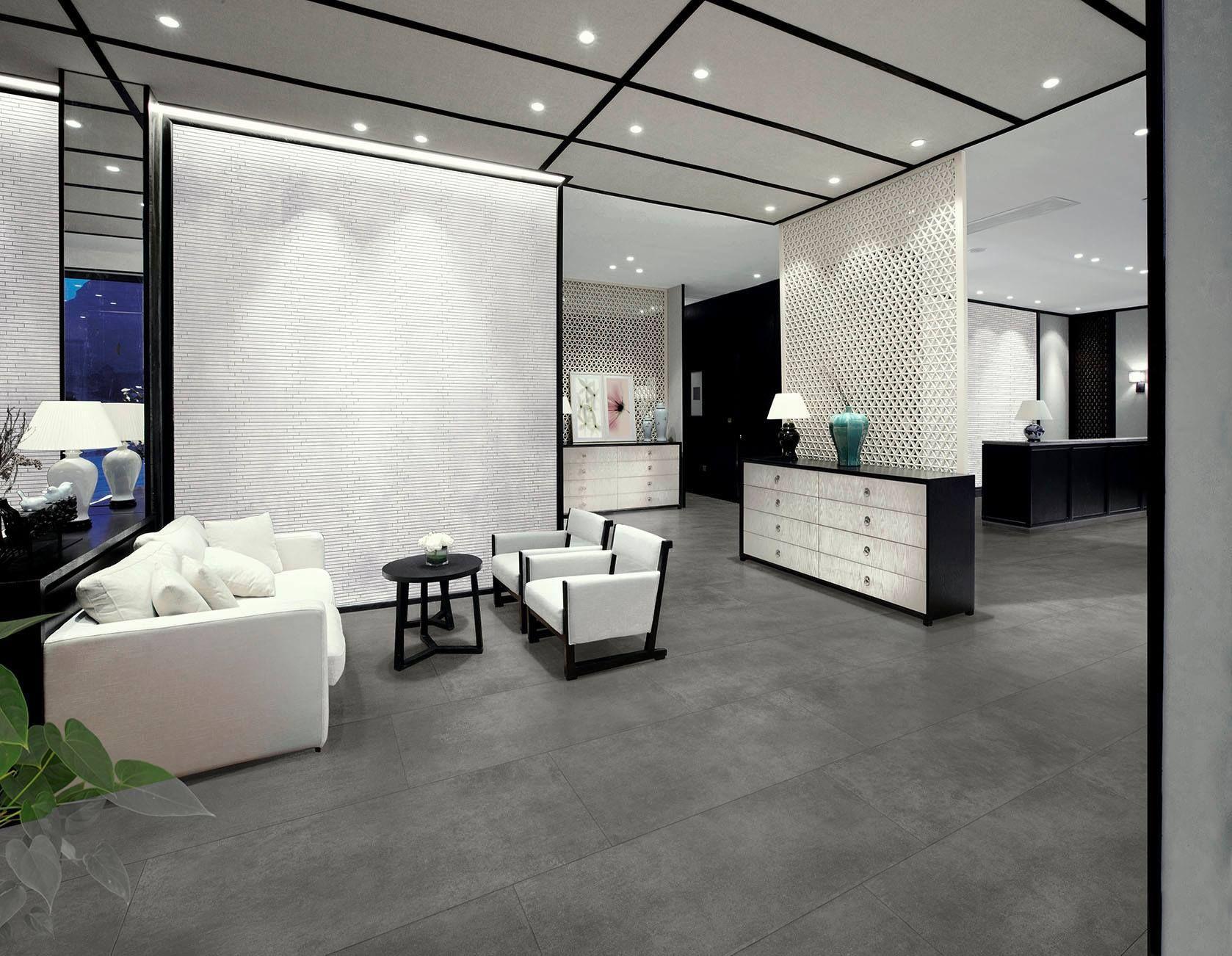 Only $22 m2! Select Piombo Dark Grey Italian Porcelain Tile ...