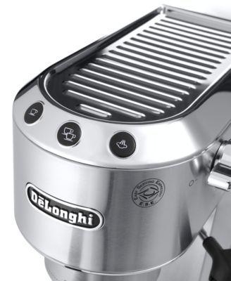 De'Longhi Dedica EC680 15-Bar Pump Espresso Maker - Silver #espressomaker