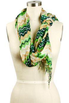 gorgeous zig zag scarf!