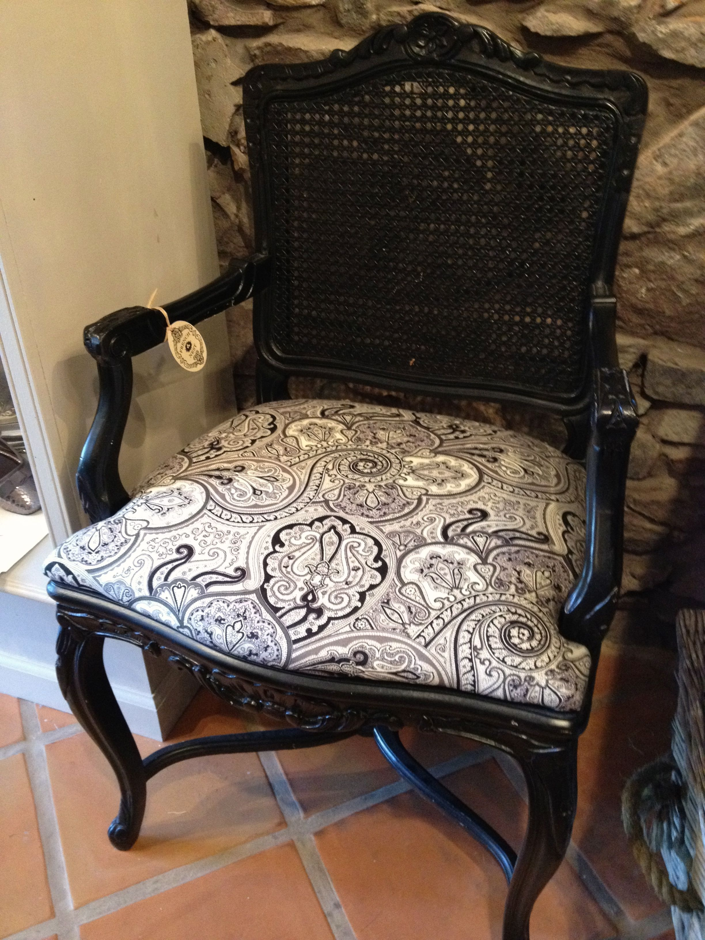 13 best Cane chair redo images on Pinterest