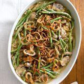 Traditional green bean casserole #Anthropologie #PinToWin