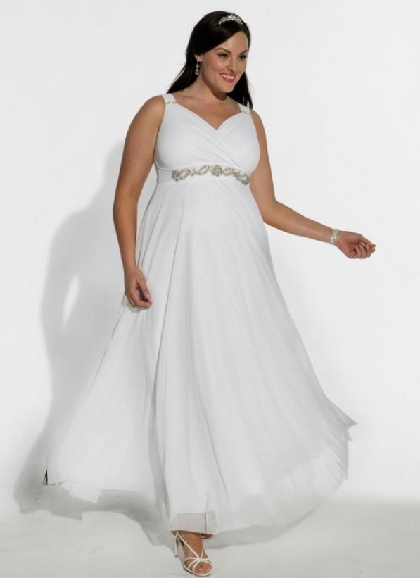 Simplicity 5294 Plus Size Meval Wedding Dress PATTERN   Flowers and ...