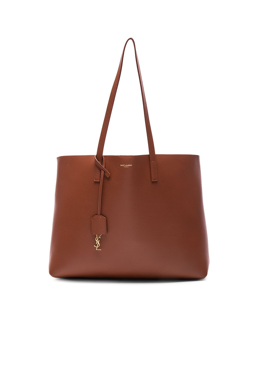SAINT LAURENT Large Shopping Bag. #saintlaurent #bags #leather #hand bags