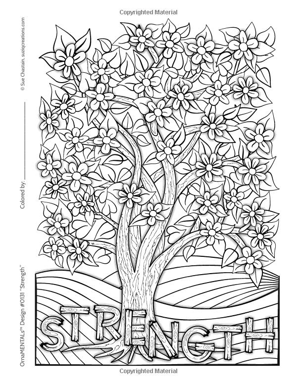 Amazon.com: OrnaMENTALs Feel Good Words Coloring Book: 30 Positive ...