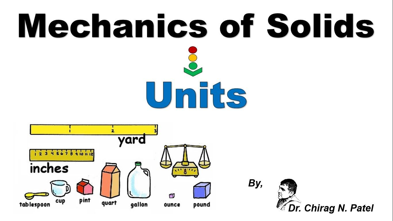 Mechanics of Solids_Units