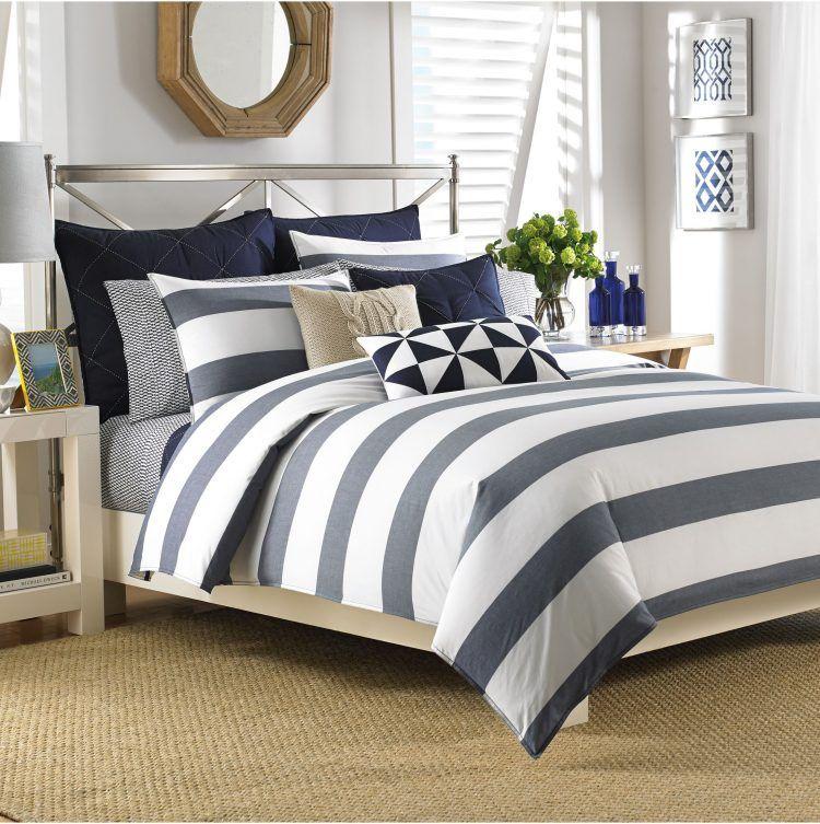 line decorative design bedding comforter pillows mirror