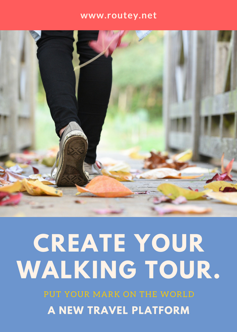 Sign Up To Create And Share Your Walking Tours And Travel