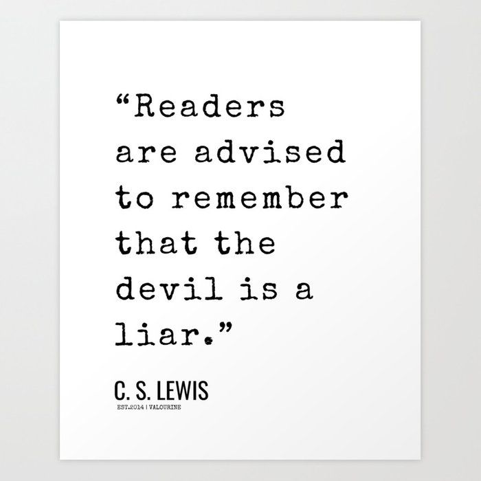 10    | C. S. Lewis Quotes| 210608 | Christianity Quote | Literature Quotes Art Print by Quotes And Sayings
