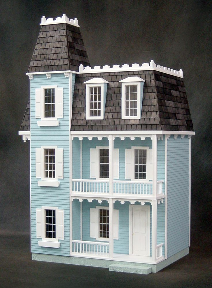 Image Result For Victorian Dollhouse Colors Doll Houses Dolls