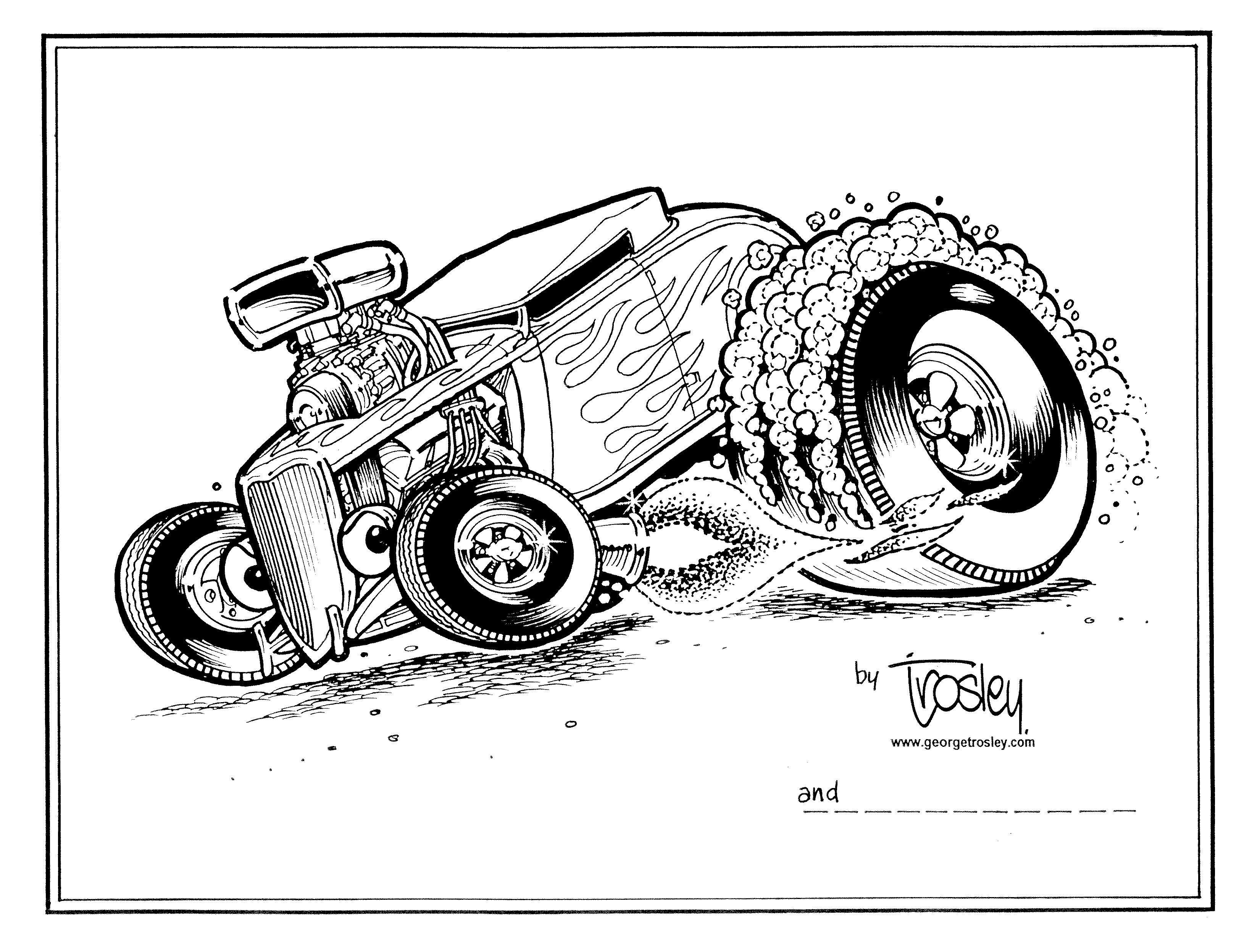 Trosley Cool Car Drawings Cartoon Car Drawing Art Cars