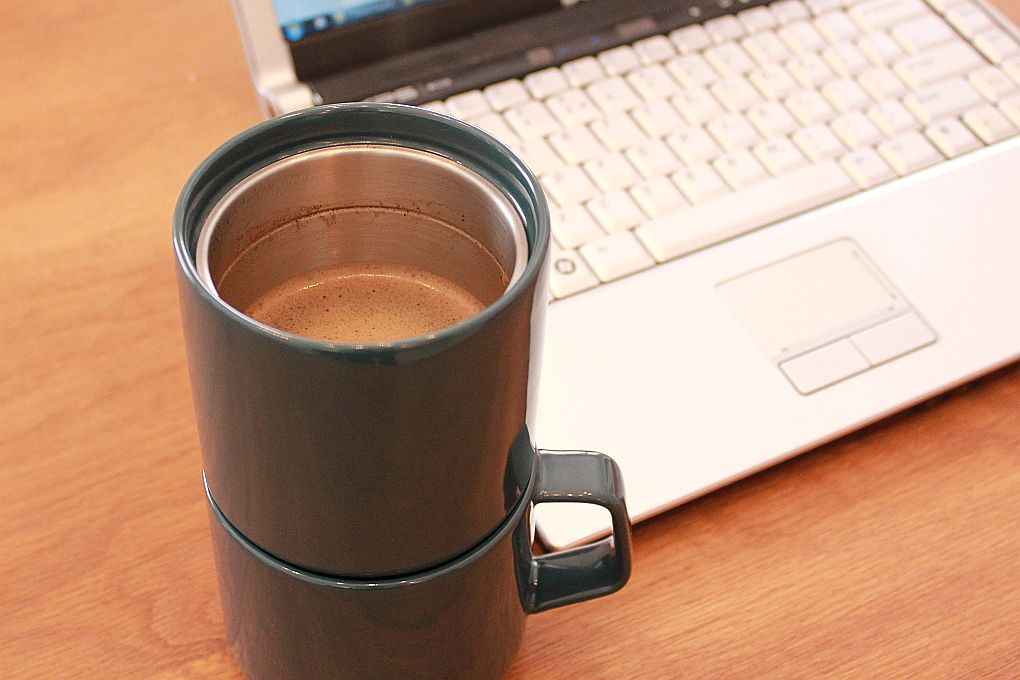 The Kinto Faro Grande mug has become our fave at home & at the office