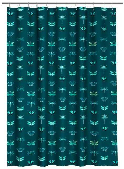 HM Patterned Shower Curtain