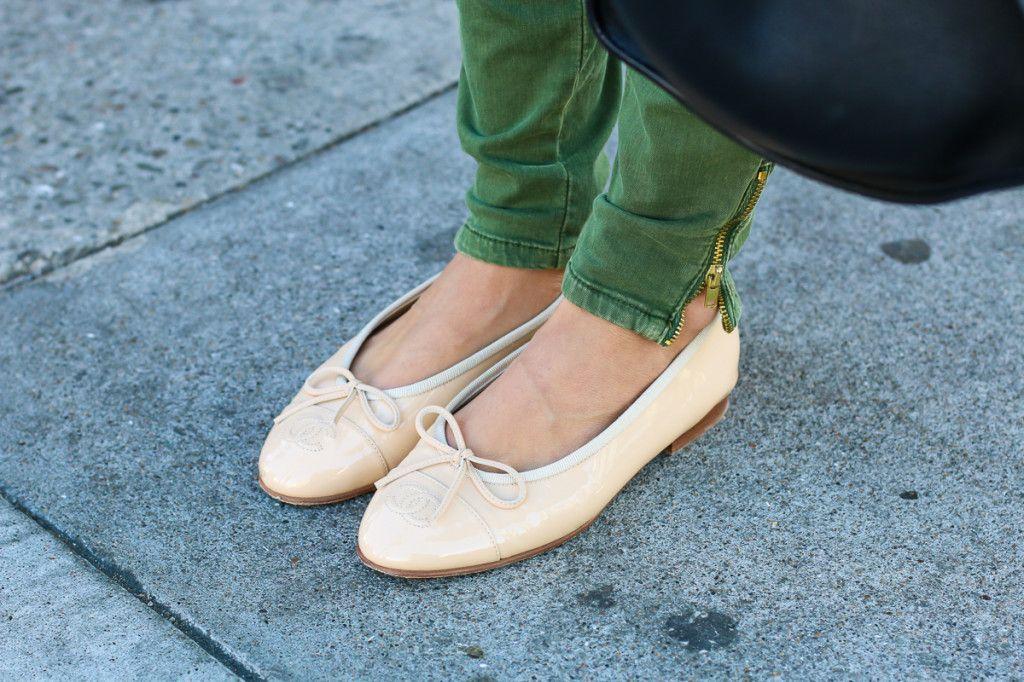 Ariana Lauren of #fashionborn wearing shoes #chanel