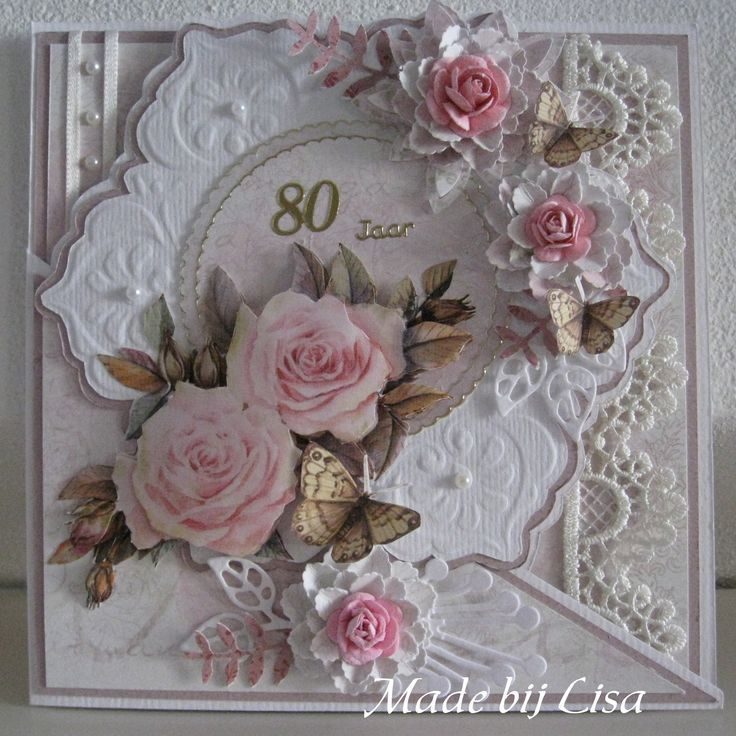 image result for pinterest ladies cards with flowers