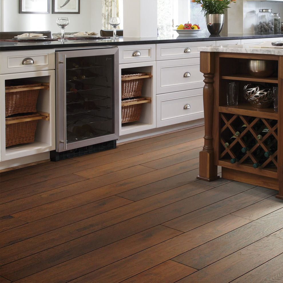 Inspired Shaw Laminate Flooring In Kitchen Traditional With Hickory Next To Dark Floor Alongside Wood And