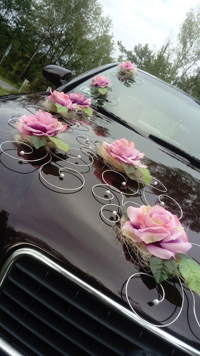 Kup Teraz Na Allegro Pl Za 11 00 Zl Dekoracja Na Samochod Slub Wesele Promocja 6955990911 A Wedding Car Decorations Wedding Car Rustic Wedding Alter