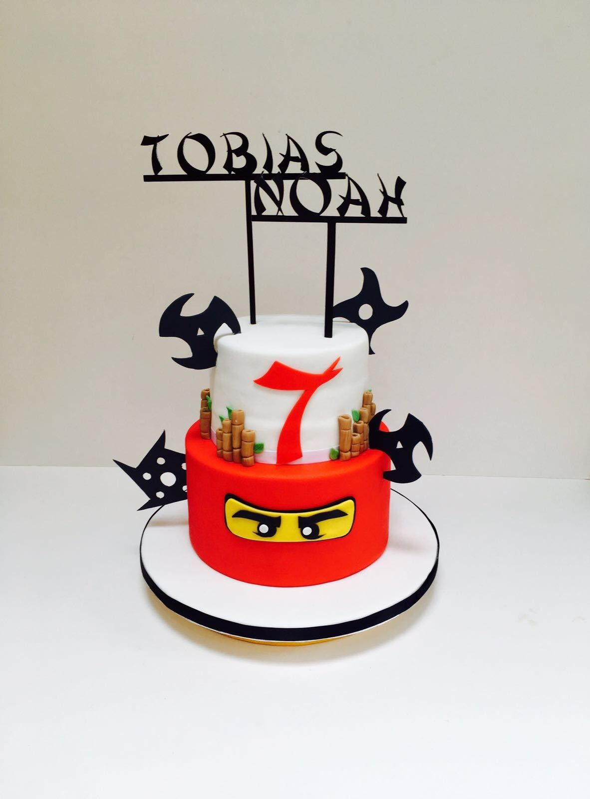 Ninjago Birthday Cake | Elizabeth Harris Cake Designs in