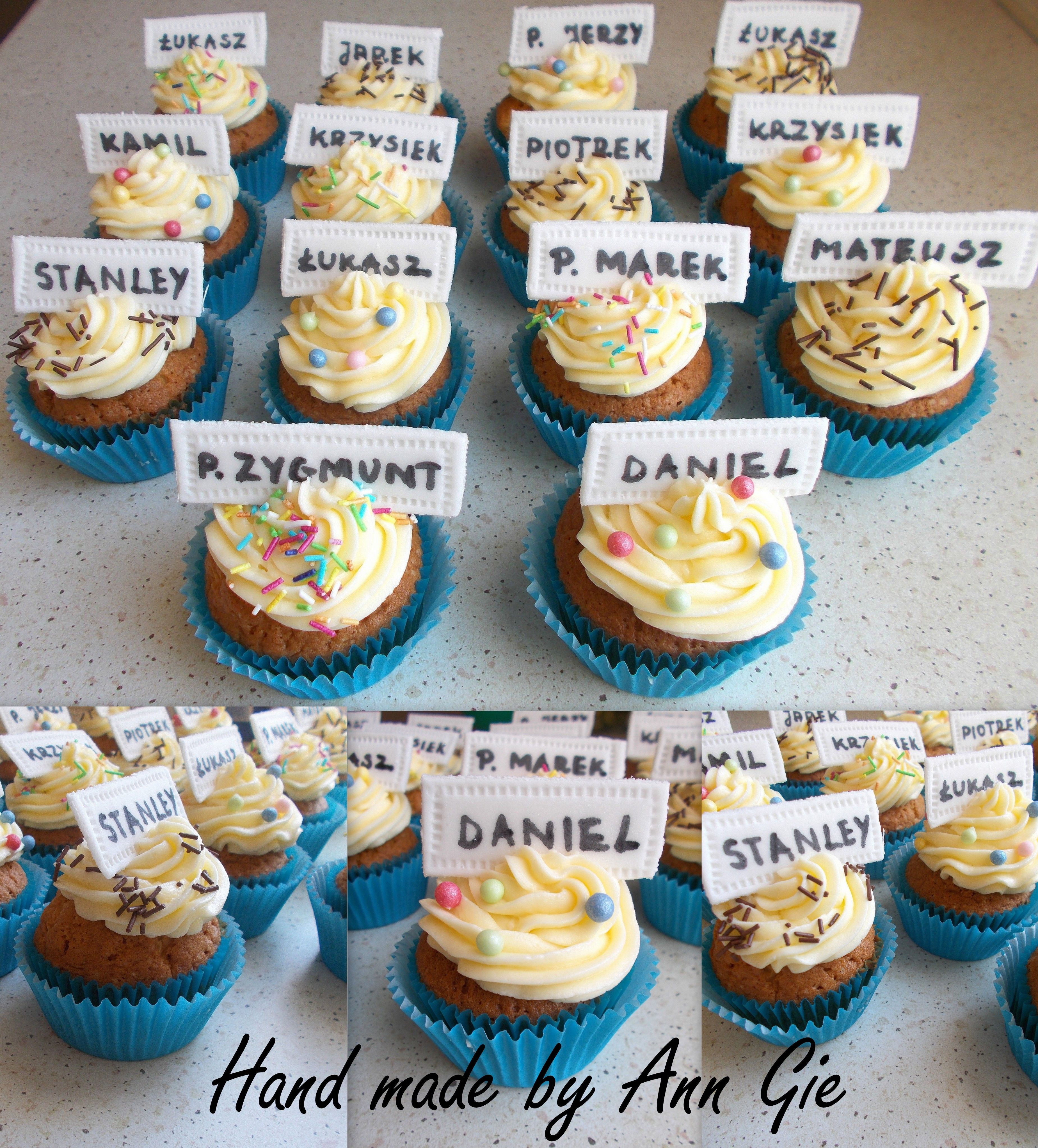 Cupcakes With Names Desserts Food Cupcakes