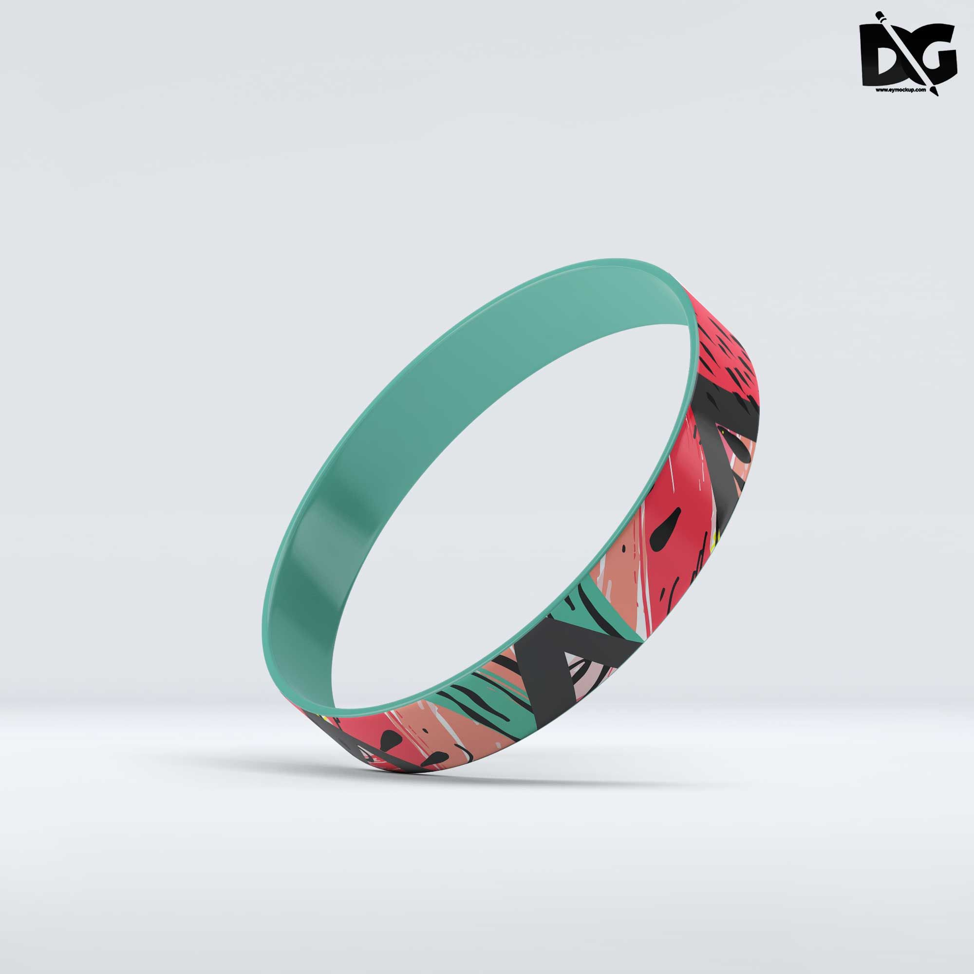 100 Personalised Fabric Wristbands Your wristband//your design